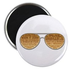 The Big Lebowski Glasses Magnet