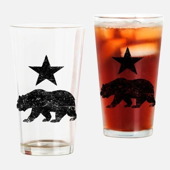 Funny California republic Drinking Glass