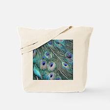 PeacockFeathers Tote Bag
