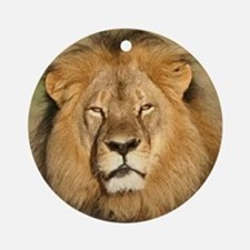 Cecil the Lion Round Ornament