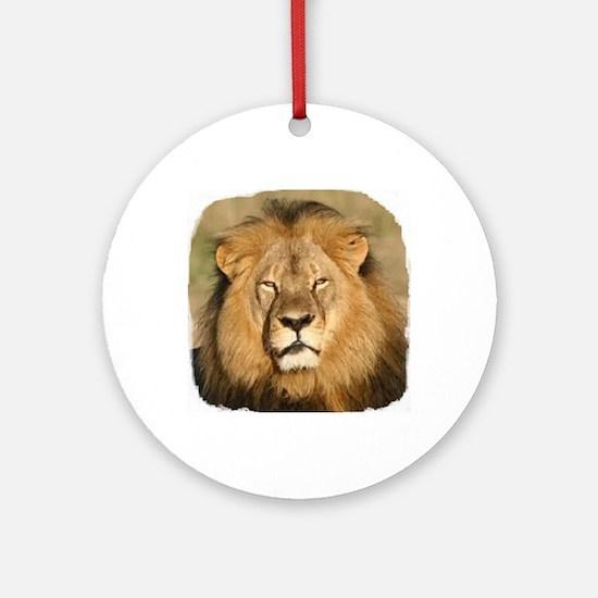 Cecil the Lion Round Ornament