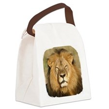 Cecil the Lion Canvas Lunch Bag