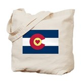 Colorado rocky mountain Canvas Tote Bag