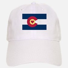 Colorado Love Flag Baseball Cap
