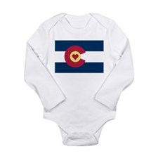 Colorado Love Flag Body Suit