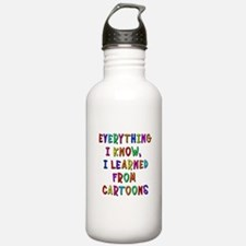 Everything I Learned C Water Bottle