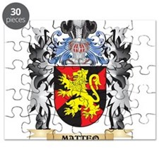 Matteo Coat of Arms - Family Crest Puzzle