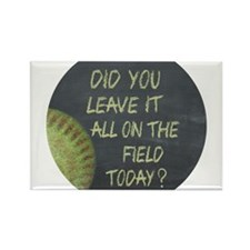Cute Fastpitch Rectangle Magnet