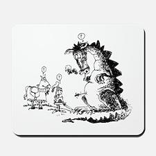 Dragon Slayer Wannabe Mousepad
