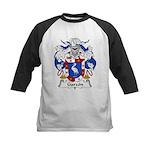 Garzon Family Crest Kids Baseball Jersey