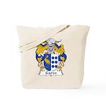 Garzo Family Crest  Tote Bag