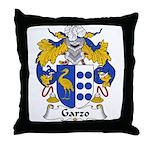 Garzo Family Crest  Throw Pillow