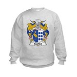 Garzo Family Crest  Kids Sweatshirt