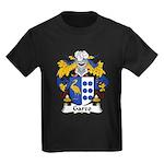 Garzo Family Crest  Kids Dark T-Shirt