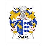 Garzo Family Crest  Small Poster