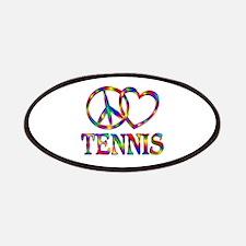 Peace Love Tennis Patch