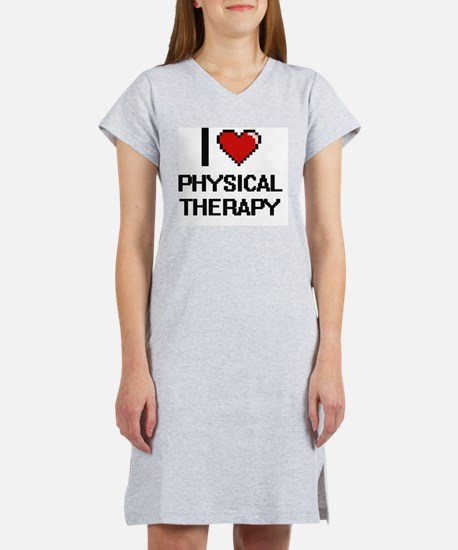 Unique Physical therapy Women's Nightshirt