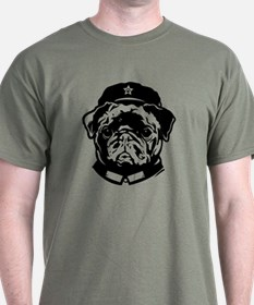 Black Pug Chairman - T-Shirt