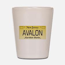 Avalon NJ Tag Giftware Shot Glass