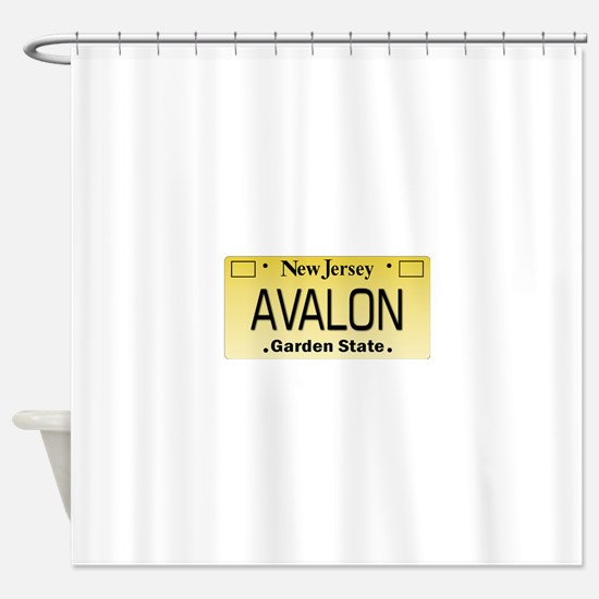 Avalon NJ Tag Giftware Shower Curtain