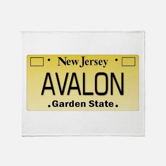 Avalon NJ Tag Giftware Throw Blanket