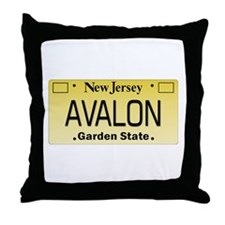 Avalon NJ Tag Giftware Throw Pillow