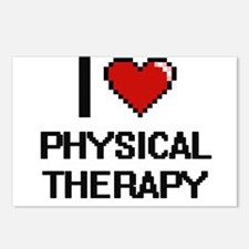 I Love Physical Therapy D Postcards (Package of 8)
