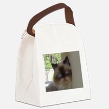 seal point himalayan Canvas Lunch Bag