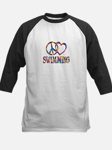 Peace Love Swimming Tee