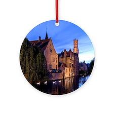 Stunning! Bruges Pro Photo Round Ornament