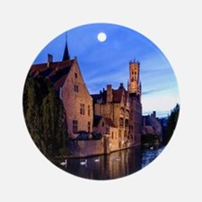 Stunning! Bruges Pro Photo Round Ornament