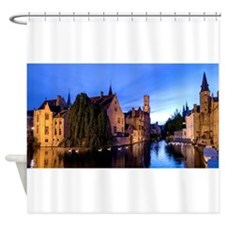 Stunning! Bruges Pro Photo Shower Curtain