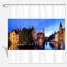 Stunning! Bruges Pro Photo Shower Curtain
