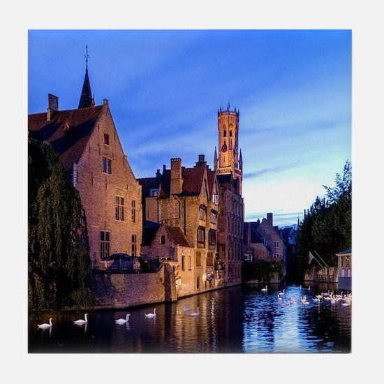 Stunning! Bruges Pro Photo Tile Coaster