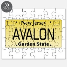 Avalon NJ Tag Giftware Puzzle