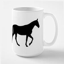 horse silhouette Mugs