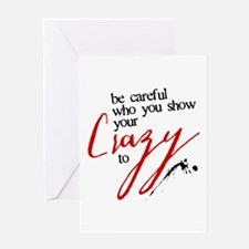 Show Your Crazy Greeting Card