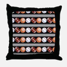 Cute Sports Throw Pillow