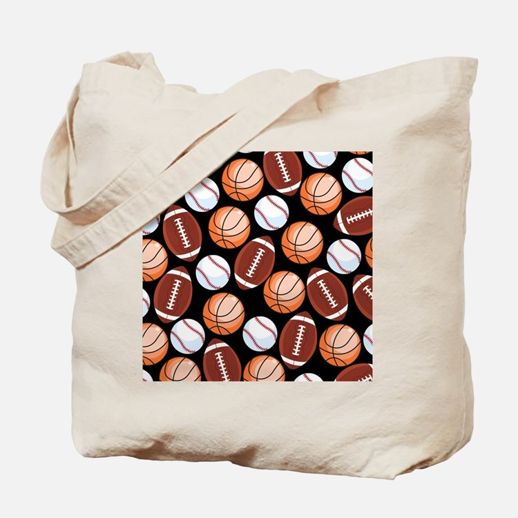 Cute Unique basketball Tote Bag