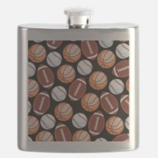 Unique Football Flask
