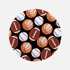 Cute Unique basketball Button