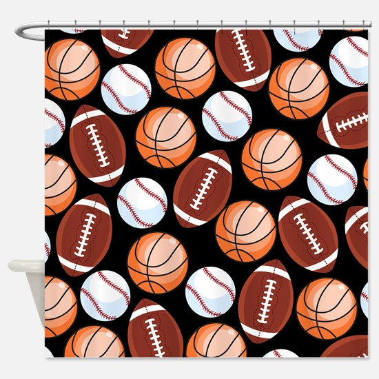Unique Sports Shower Curtain