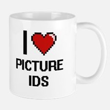 I Love Picture Ids Digital Design Mugs