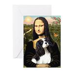 Mona's Tri Cavalier Greeting Cards (Pk of 20)