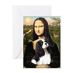 Mona's Tri Cavalier Greeting Card
