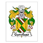 Garcilaso Family Crest Small Poster