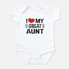I Love My Great Aunt Onesie