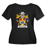 Garategui Family Crest  Women's Plus Size Scoop Ne