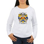 Garategui Family Crest  Women's Long Sleeve T-Shir