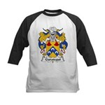 Garategui Family Crest  Kids Baseball Jersey